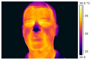 FLIR Thermogram of David Prutchi