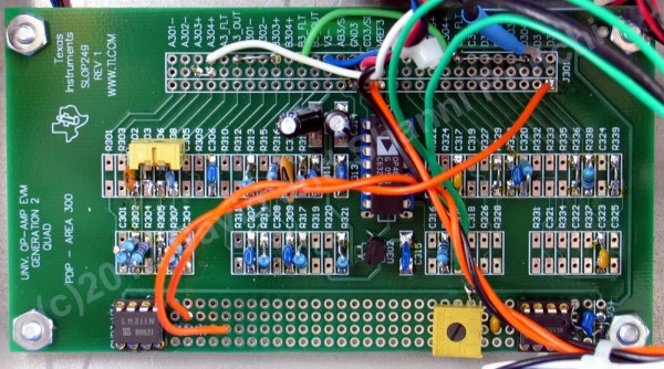 Printed circuit board for diy PMT amplifier, processor, discriminator and scintillator detector