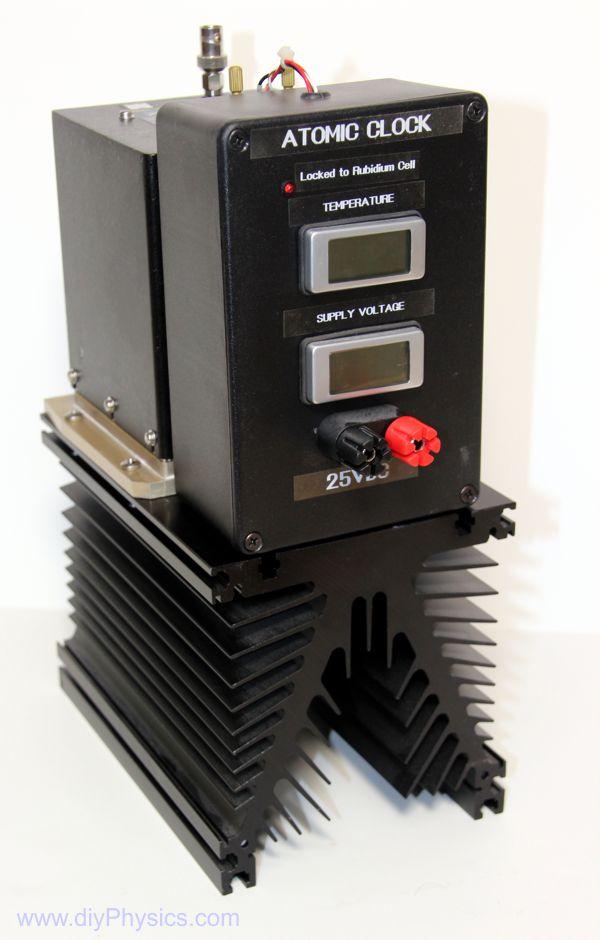 D I Y 10 Mhz Atomic Clock Frequency Standard Using Surplus Rubidium Oscillator Diy Physics Blog