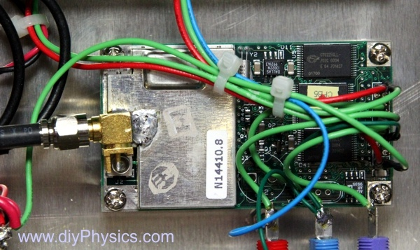 diy GPS-disciplined 10 MHz frequency reference by David Prutchi PhD www.diyPhysics.com