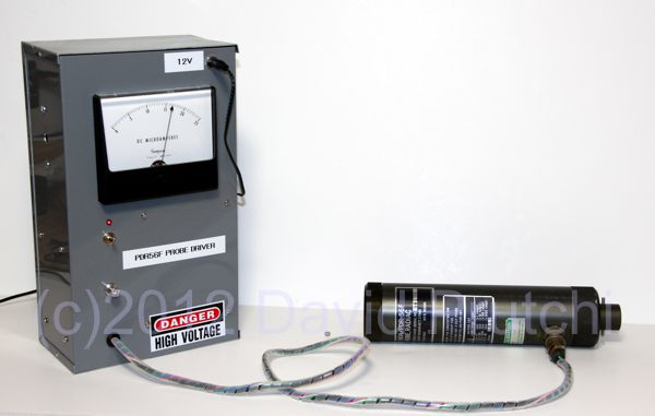Home-Made PDR-56F Radiac for a surplus DT-590A/PDR-56F Plutonium Contamination Probe