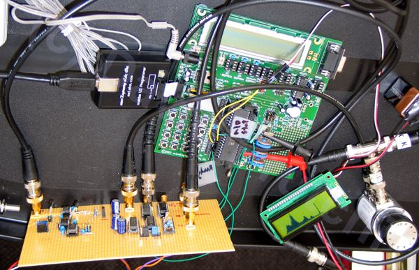 diy Multichannel Analyzer (MCA) prototype by David Prutchi PhD