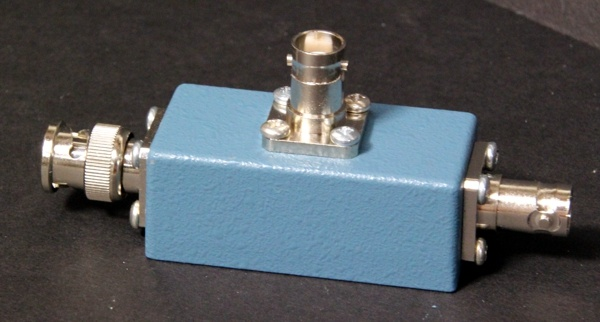 diy Signal/High-Voltage Splitter for Scintillation Probe with Single Connector David Prutchi www.diyphysics.com