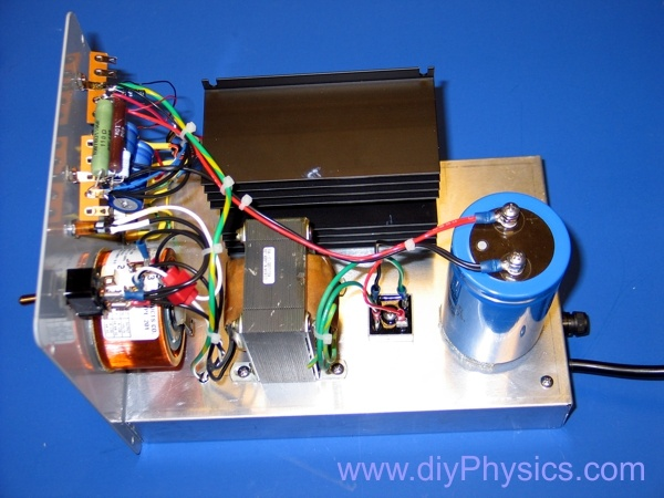 Universal resonant transformer driver by David and Shanni Prutchi www.diyPhysics.com