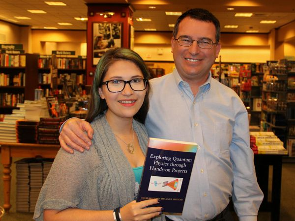 David and Shanni Prutchi at Barnes&Noble book signing.  Marlton, NJ April 18, 2012