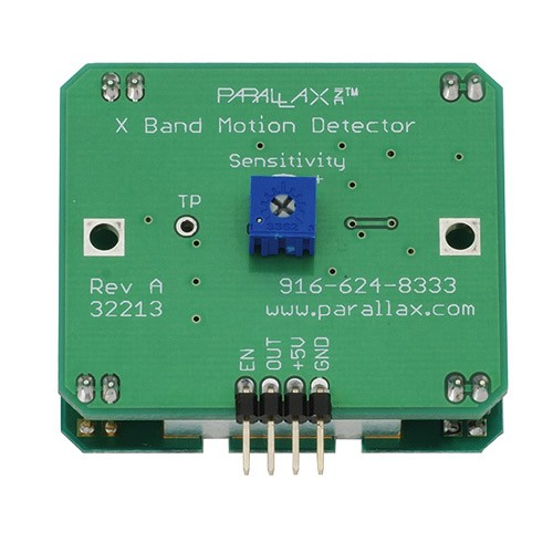 Parallax X-Band Microwave Transmitter for diy Quantum Tunneling and Microwave Optics Experiments