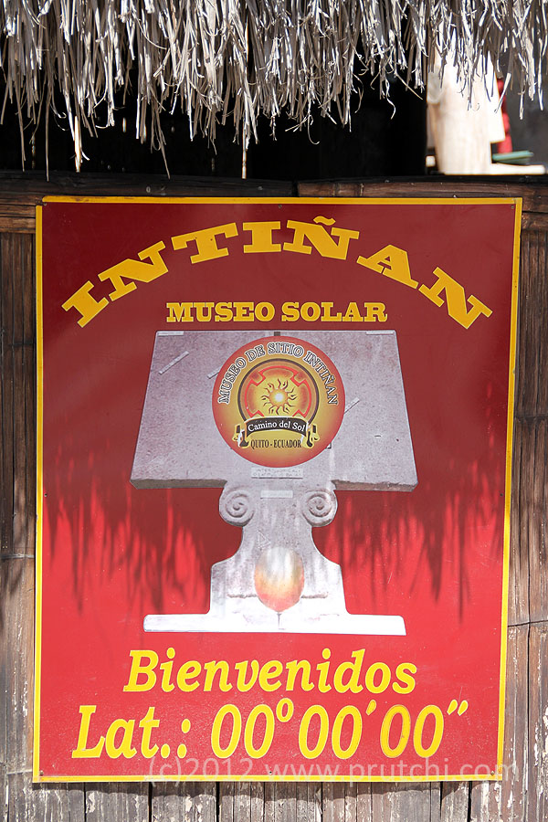 The Intiñan Solar Museum is a shameless tourist trap.  Tour guides get a kickback from the uscrupulous owners of this site where credulous turists are shown tricks that supposedly can happen only at the Equator.  This is prime wxample of Bad Physics fueled by greed!