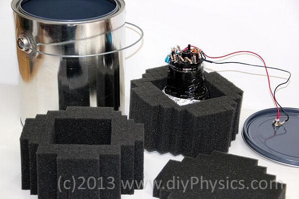 Prutchi diy PMT plastic scintillation probe for the CD-V-700 Pro Geiger Counter
