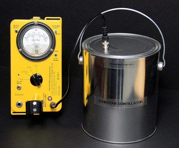 Paint Can Scintillation Probe for the Prutchi CD-V700-Pro Geiger Counter