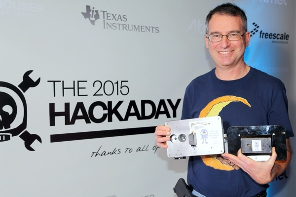 David Prutcho PhD 5th place Hackaday prize winner