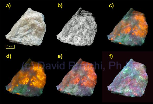 Hackmanite UV fluorescence David Prutchi PhD