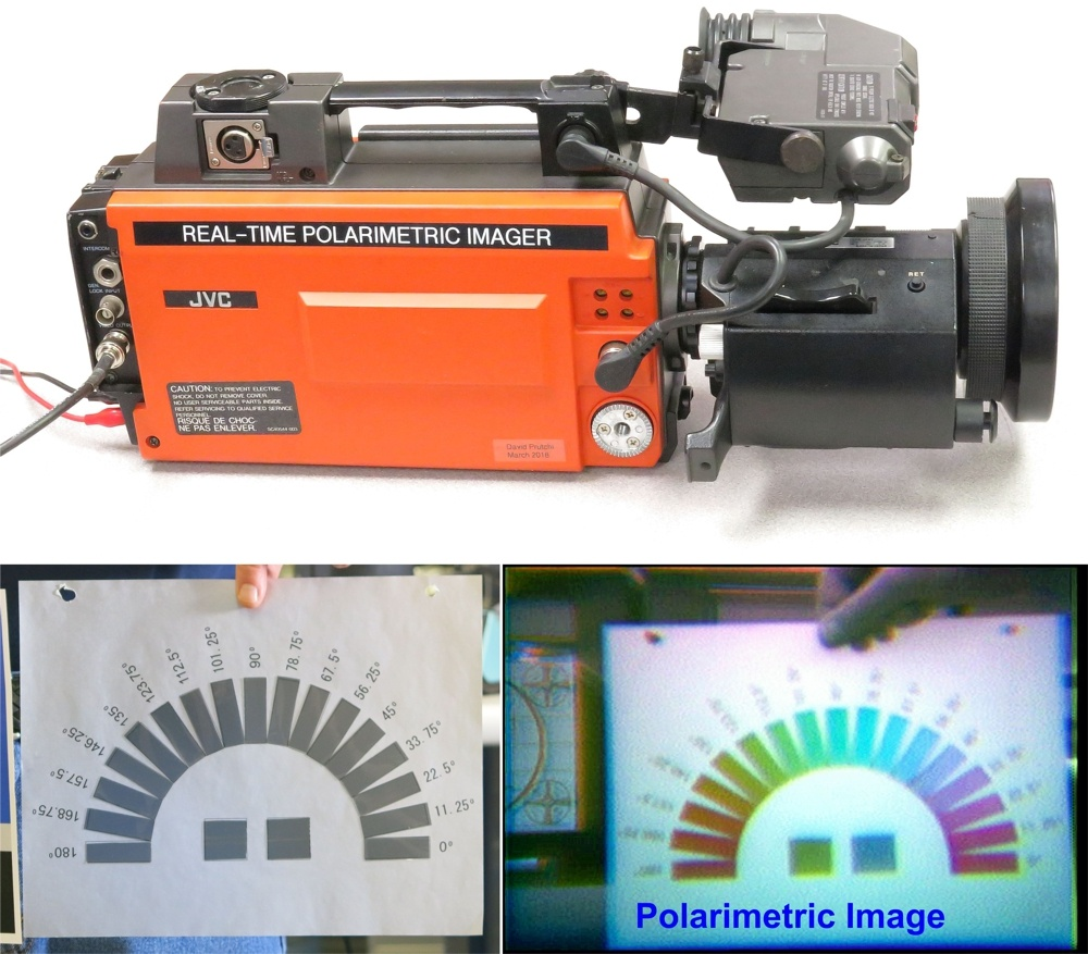 Real-time polarimetric imaging camera by David Prutchi Ph.D.