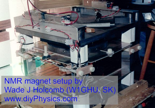 Wade G Holcomb's NMR magnet  www.diyPhysics.com